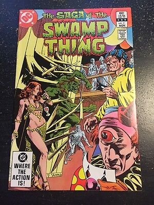 The Saga Of Swamp Thing#7 Incredible Condition 9.0(1982) Cool!!