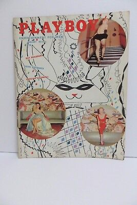 Playboy Magazine January 1955 Bettie Page Centerfold Amazing Condition