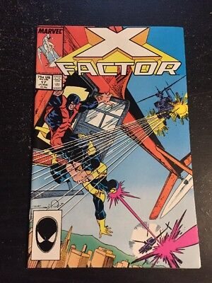 X-factor#17 Incredible Condition 8.5(1987) 1st Rictor App, Caliban Joins !!