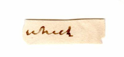 JAMES MADISON Autograph Clip Document -President & Thomas Jefferson Sec of State