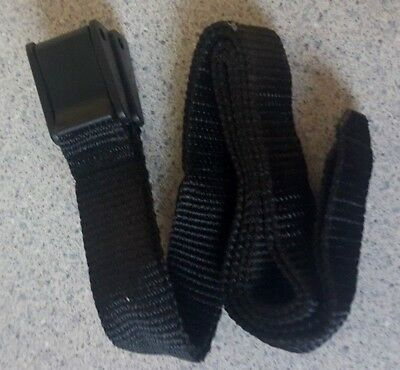 easy fast clip on nylon Equestrian Spur Straps one size in black for spurs