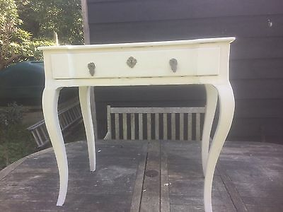 Side Painted Table