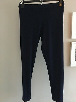 Boden Navy Leggings Size 16