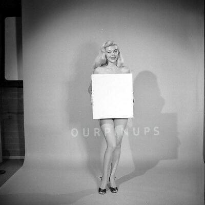 "#30 1950's Model/Actress DAWN ONEY Vintage ORIG 2.25"" B/W Eric Herman NEGATIVE"