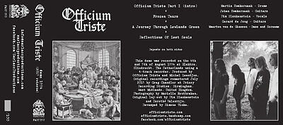 OFFICIUM TRISTE - Demo 1994 TAPE (NEW*LIM.100*MY DYING BRIDE*ANATHEMA)