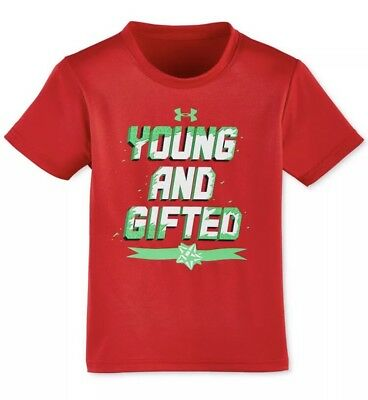 Under Armour Holiday T-Shirt Kids Size 2T