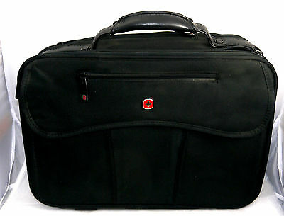 Wenger Suisse Army Knife Briefcase Black # Swa0517 Hk-724