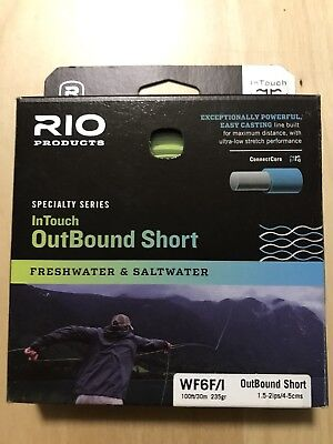 Rio InTouch Outbound Short Freshwater&Saltwater WF 6 F/I