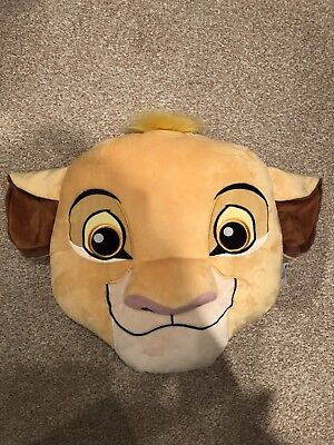 Disney Store Lion King Simba Cushion Excellent Condition