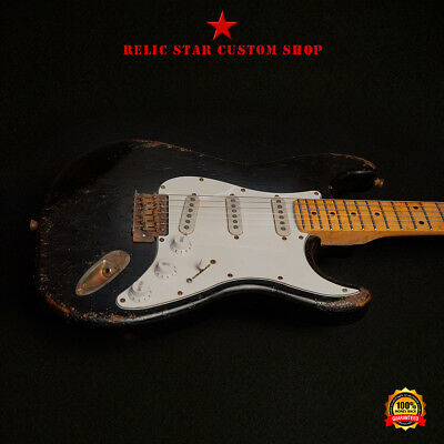 RELIC STAR Custom Shop CROSSROAD Uncle Eric stratocaster mod.