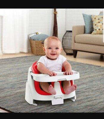 Ingenuity Baby Base 2-in-1 Booster Seat In Red
