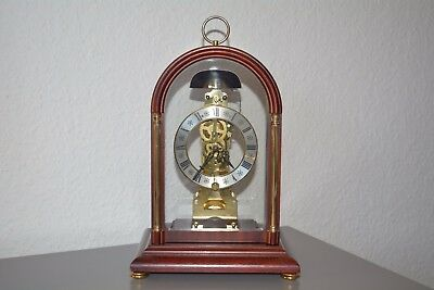 ,,HERMLE'' SKELETON MANTLE CLOCK. GERMANY. BELL STRIKE. 8 DAY. Ref 791-081