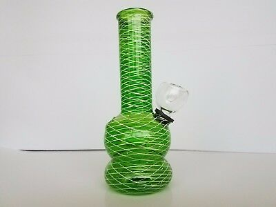 Hookah Water Pipe Bong Glass Mini 5 inch - Green