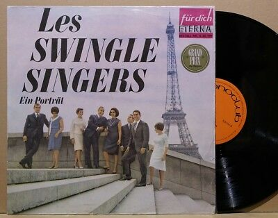 Les SWINGLE SINGERS, LP/VINYL AMIGA Jazz 8 20 596