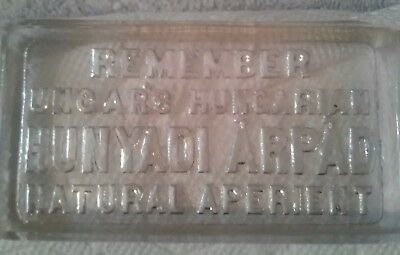 Antique Vtg glass paper weight medical remedies
