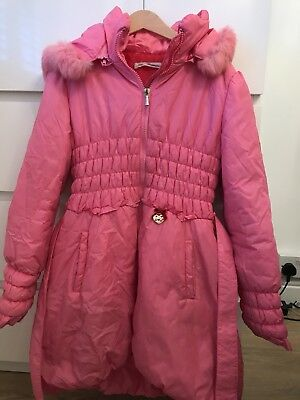Miss Blumarine Thermore Insulation Coat / Jacket - Authentic - Age 10 - Rrp £300