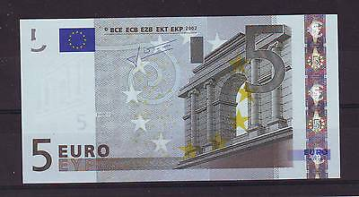 2 X 5 Euro Cyprus Banknote Unc / Fds / Neuf !
