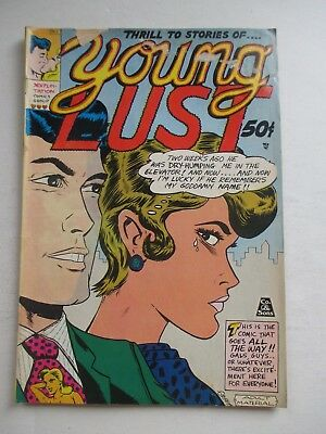 Last Gasp Young Lust #1 3Rd Print 1971 Bill Griffith