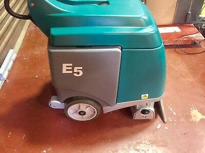 Tennant E5 Carpet Extractor, Cleaner, Excellent Condition Only 20.2Hrs