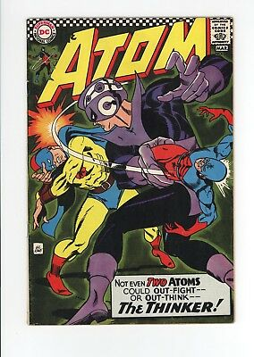 ATOM #29 - NICE GRADE About a FN 6.0 - GOLDEN AGE ATOM FROM EARTH TWO - 1967