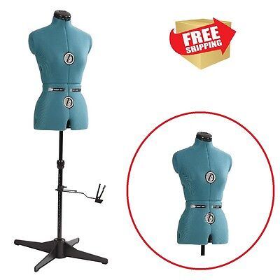 Sewing Dress Form Female Mannequin Torso Professional Adjustable Display Medium