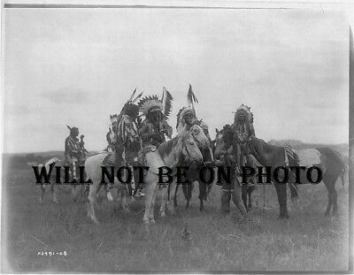 Native American Indian Cherokee Apache Cree Comanche Sioux Photo Picture 8x10 12