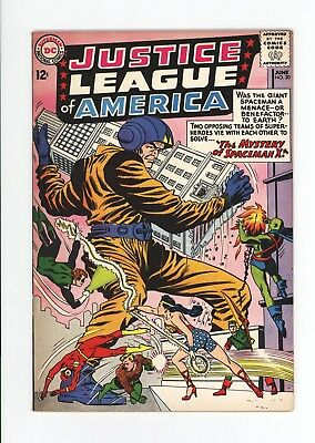 Justice League Of America #20 - High Grade Vf 8.0 - Wonder Woman! - 1963