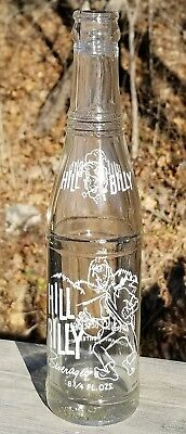 HILL BILLY Beverages ACL Soda Bottle Richland Center Wisconsin WI Great Graphics