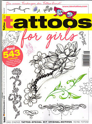 Tattoo Idee Spezial Tattoos for Girls Top Zustand!Ungelesen!