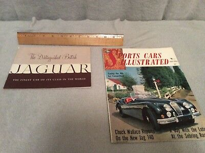 Jaguar Xk20 Xk140 Brochures Lot Of 2 No Reserve