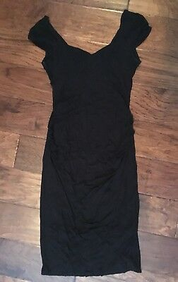 ASOS Maternity Little Black Dress 6 EUC