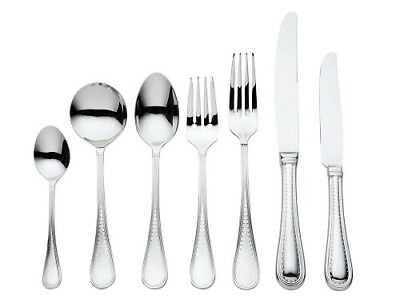 NEW Vera Wang for Wedgwood Grosgrain 56 pce Cutlery Set BRAND NEW LOWEST PRICE!
