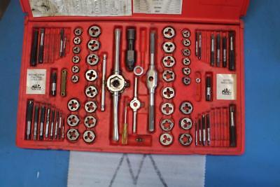MAC Tools TDCOMBO 76 Piece SAE & Metric Tap & Die Set NC & NF Threads