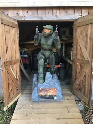 6 Foot Master Chief Halo 2 Statue Local Pick Up Only