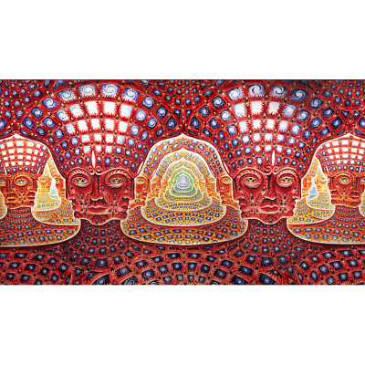 Alex Grey - Net of Being - Tapestry