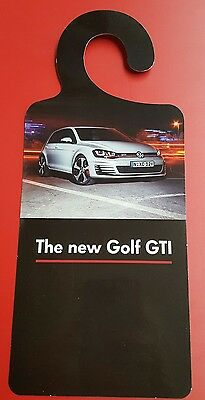 Volkswagen Golf MK7 GTI incar sales leaflet for mirror, more than one available!