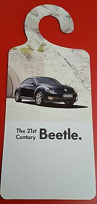 Volkswagen beetle incar sales leaflet for mirror, last couple available!
