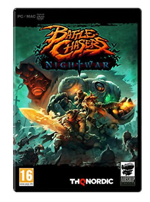 PC Games Reorderable-Battle Chasers Nightwar Pc  GAME NEW
