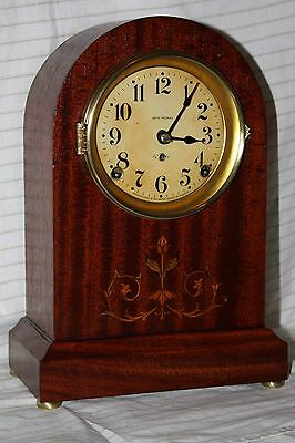 ANTIQUE SETH THOMAS SHELF MANTLE CLOCK PROSPECT No. 4 BEAUTIFUL!!-Restored--!!!!