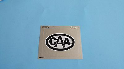 Canadian Auto Club CAA Foil Rear Bumper Sticker