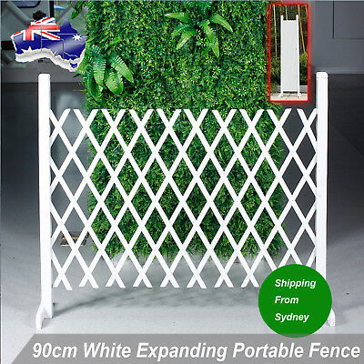 90cm Expandable Net Wooden Fence Wood Flower Ivy Wall Garden Wedding Decoration