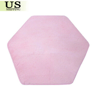 Kids Play Tent Mat Hexagon Cushion Princess Castle Rug Playhouse Pad Mat