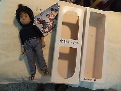 Sasha Doll 301 Gregor Dark Denims with Original Clothes Serie Tag Box Brochure