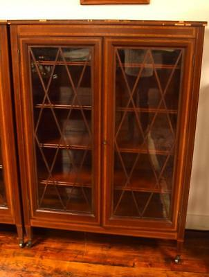 ATTRIB. A. H. DAVENPORT/IRVING & CASSON TWO DOOR BOOKCASE: Lot 299