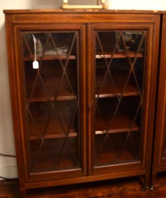 ATTRIB. A. H. DAVENPORT/IRVING & CASSON TWO DOOR BOOKCASE: Lot 297