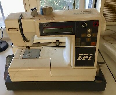 Melco EP1 Embroidery Machine, Software, Manual, & more...
