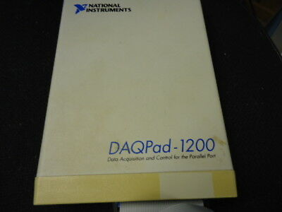 National Instruments Daqpad-1200  Data Acquisition And Control 182513C-01
