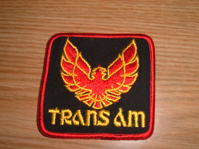 Vintage PONTIAC TRANS AM FIREBIRD Muscle Car Emblem Logo PATCH
