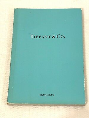 Vintage 1973-1974 Tiffany & Company Jewelry Catalog Blue Collection