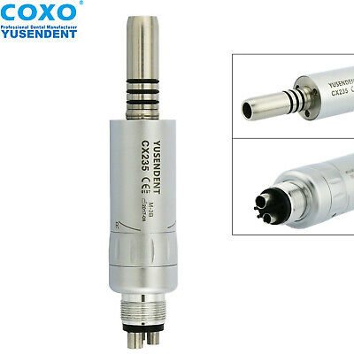 COXO YUSENDENT Dental Inner Water Low Speed Air Motor Handpiece 4 Hole E-type